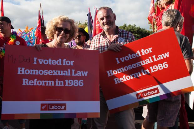 Labour gay pride trevor mallard judith tizard