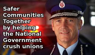 mike bush crushing unions