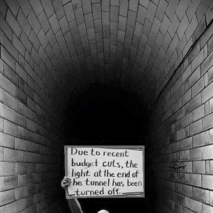 budget cut light at end of tunnel