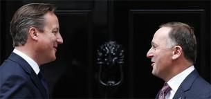 John Key and David Cameron 2