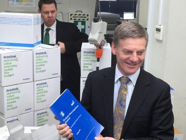 Bill English budget 2016
