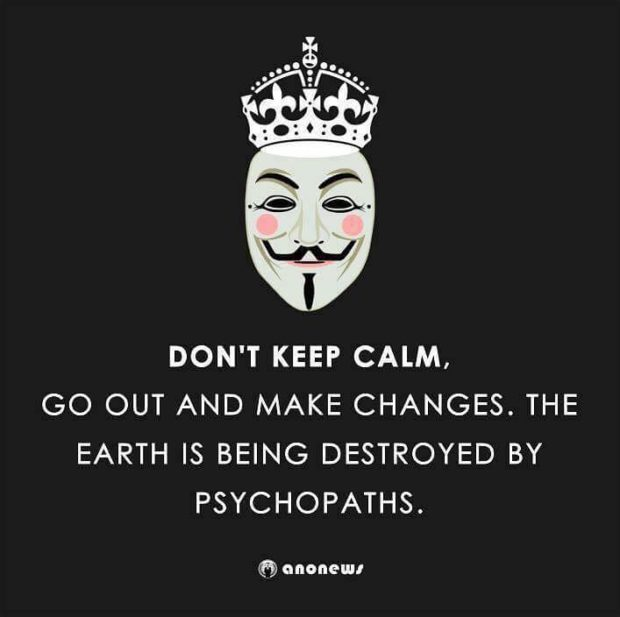 Dont keep calm psychopaths