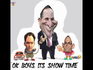 John Key Mike Hosking Paul Henry