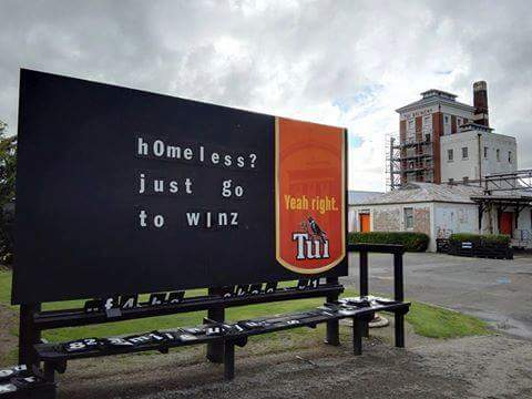 homeless just go to WINZ