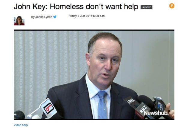 key homeless don't want help
