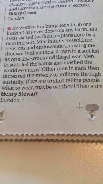 Ban suits