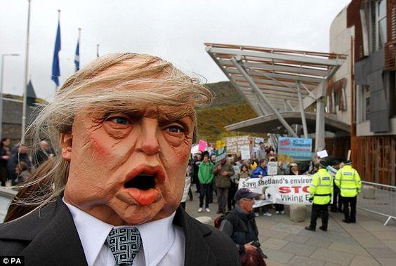 Donald Trump mannequin