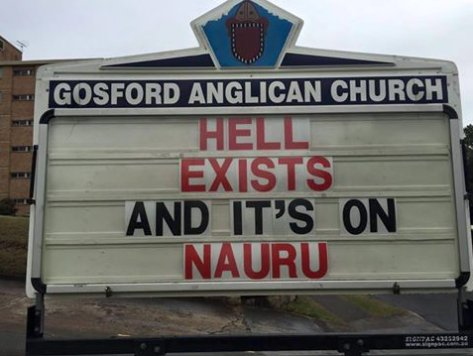 Hell on Nauru