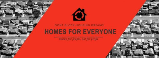 dont block housing dreams