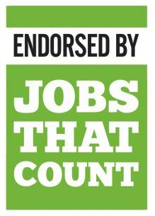 jobs that count endorsement