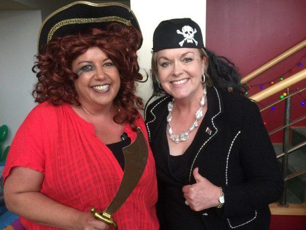 Paula Bennett Judith Collins pirates