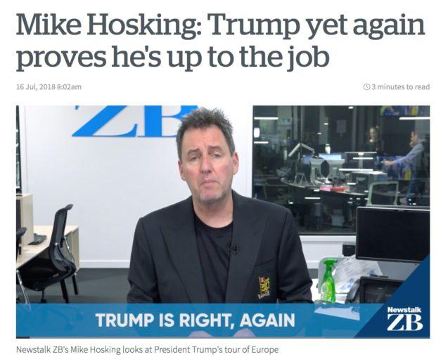 Mike Hosking Trump