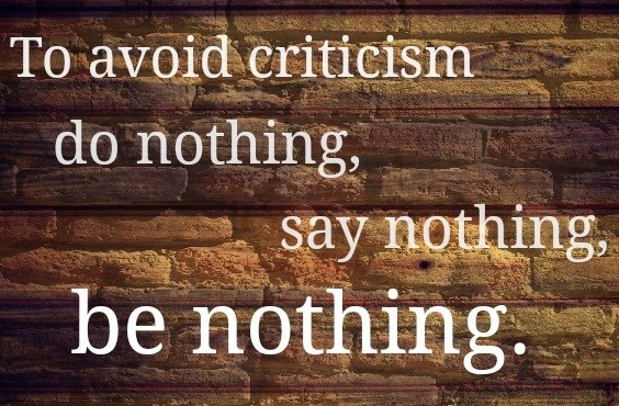 avoiding-criticism-being-nothing